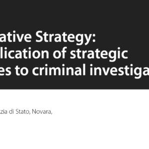 Investigative Strategy