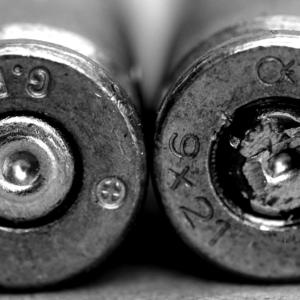 Confronto bossoli arma da fuoco