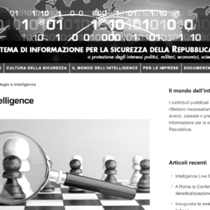 Strategia e intelligence